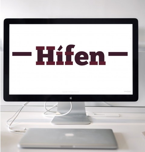 O uso do hífen na língua inglesa